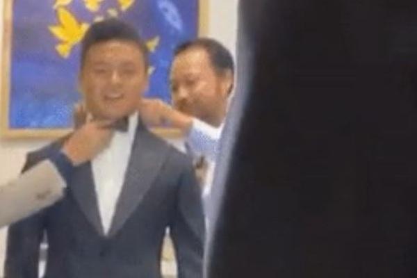 Quang Hải mặc vest như chú rể sau ngày đưa tình mới về nhà ra mắt, rộ tin chuẩn bị đám cưới