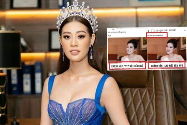 """Hoa hậu Khánh Vân """"phản pháo"""" sau phát ngôn có nhà, xe mới chỉ sau 1 đêm bị dân mạng """"cà khịa"""""""