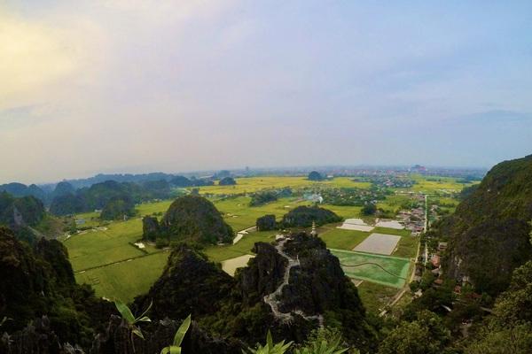 Mùa lúa vàng đẹp đến nao lòng ở Ninh Bình
