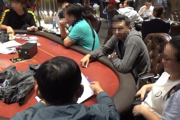 TP.HCM: Triệt phá sòng bài poker trong căn biệt thự do người Hàn Quốc cầm đầu
