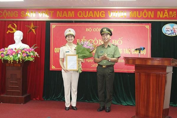 Nữ Thiếu tướng được bổ nhiệm Cục trưởng của Bộ Công an