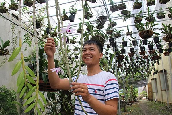Bất ngờ: Trai đẹp chơi lan rừng, có lan Giả hạc Châu Như mà ra...tiền tỷ ở Đồng Nai
