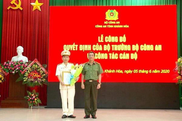 Bộ Công an điều động, bổ nhiệm tân Phó Giám đốc Công an tỉnh Khánh Hòa