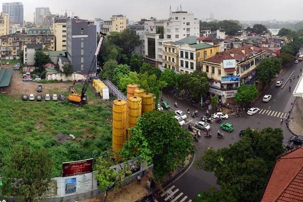 """""""Đất kim cương"""" bỏ hoang 15 năm tại Hà Nội: Chủ tịch Tân Hoàng Minh Đỗ Anh Dũng nói gì?"""