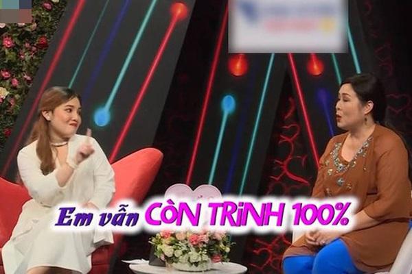 NSND Hồng Vân gây tranh cãi vì hỏi chuyện trinh tiết cô gái 21 tuổi trên sóng truyền hình