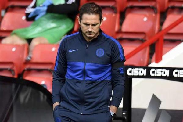 Chelsea thua tan nát Sheffield, nguy cơ rơi top 4, HLV Lampard nói gì?