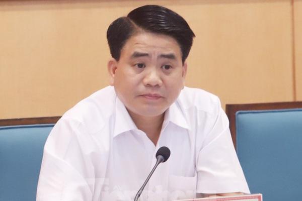 Chủ tịch Hà Nội Nguyễn Đức Chung thông tin việc chuyển 9 Sở về Khu liên cơ Võ Chí Công