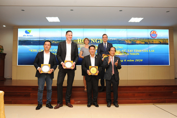 Hai Tập đoàn De Heus (Hà Lan) và Tập đoàn Hùng Nhơn (Việt Nam) đầu tư mạnh vào Tây Nguyên