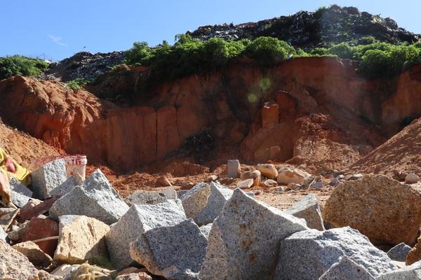 Sạt lở bãi rác Cam Ly: Khai thác đá tràn lan trong vùng lõi