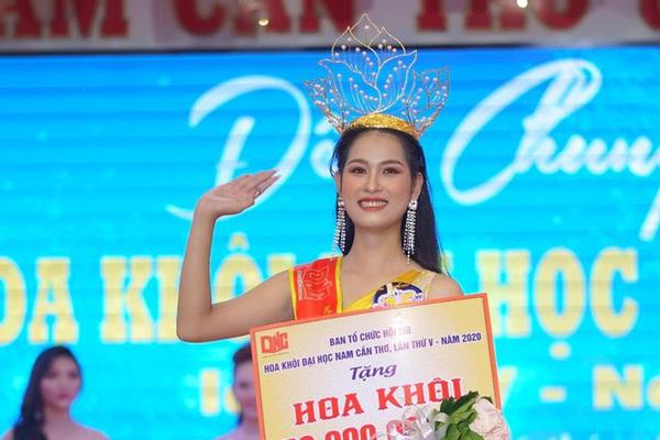 Tân Hoa khôi Đại học Nam Cần Thơ ấp ủ ước muốn tranh tài tại Hoa hậu Việt Nam 2020