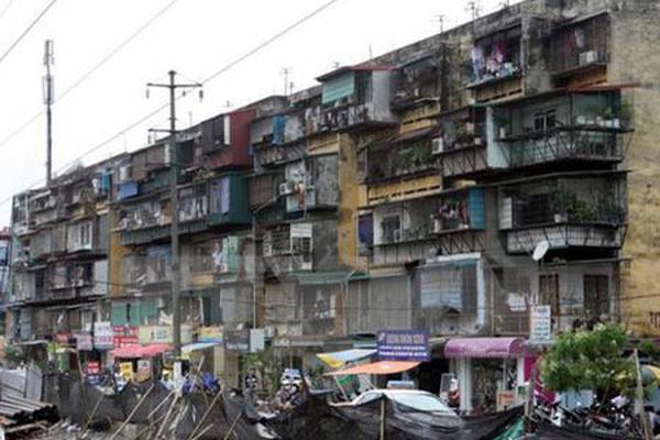 """""""Cơ chế đặc thù"""" để cải tạo chung cư cũ, tại sao không?"""