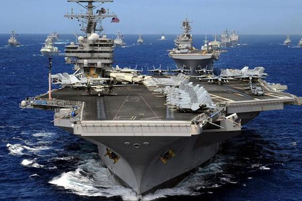 Trung Quốc có bớt ngang ngược trên Biển Đông sau việc Mỹ tập trận phô trương sức mạnh?