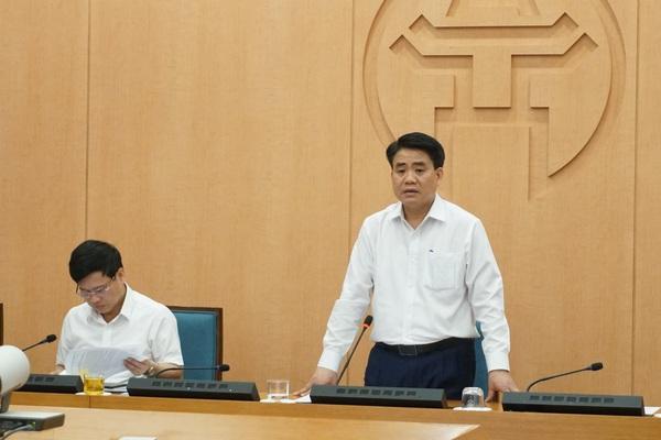"""Chủ tịch Hà Nội Nguyễn Đức Chung: """"Chạy đua với thời gian xét nghiệm PCR cho 75.000 người về từ Đà Nẵng"""""""