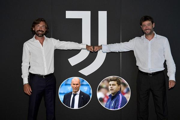 Vì sao Juventus bỏ qua Pochettino, chọn Pirlo làm HLV?