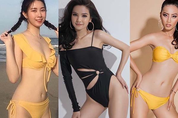"""Dàn thí sinh Hoa hậu Việt Nam 2020 khoe dáng nóng bỏng với bikini khiến dân mạng """"dậy sóng"""""""