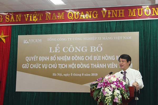 Quyết định thanh tra Bí thư, Chủ tịch VICEM Bùi Hồng Minh