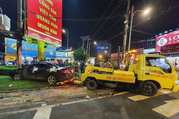 4 lỗi 'chết người' của nữ tài xế lái ô tô Camry tông hàng loạt xe máy ở TP.HCM