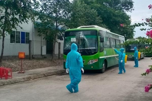 Lịch trình di chuyển của bệnh nhân 595 tại Đồng Nai