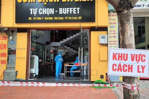 Truy vết người nghi nhiễm Covid-19 đến quán cơm và cà phê ở Hạ Long
