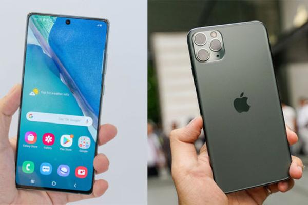 So sánh Samsung Galaxy Note 20 mới ra mắt với iPhone 11 Pro Max