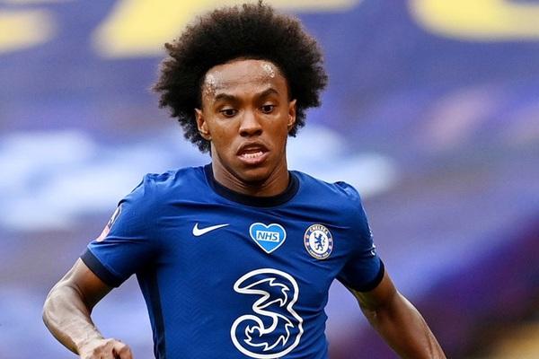 Bị HLV Lampard gạch tên, tương lai của Willian ở Chelsea tới hồi kết?