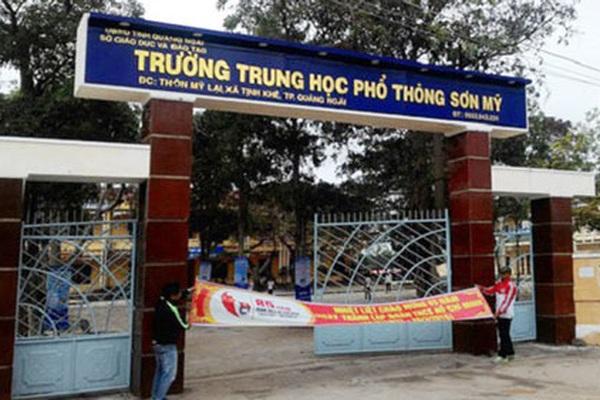 Quảng Ngãi: 48/352 thí sinh điểm Trường THPT Sơn Mỹ vừa dừng thi phải cách ly tại nhà