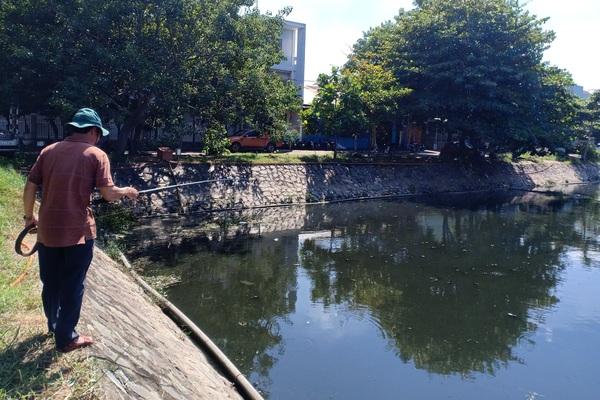 Đà Nẵng: Chi tiền tỷ để cải thiện, hồ Bàu Trảng vẫn tiếp tục ô nhiễm