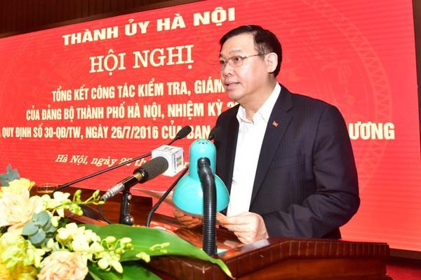 Hà Nội tiếp tục đấu tranh không khoan nhượng với tiêu cực, tham nhũng