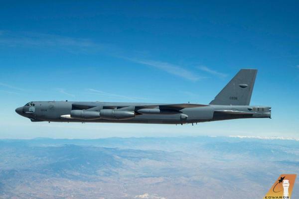 B-52 xuất hiện kèm vũ khí siêu thanh AGM-183A: Nga phát hoảng