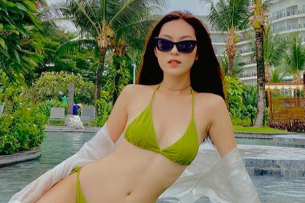 """10X xinh đẹp trong MV """"Hoa hải đường"""" của Jack hiếm hoi mặc bikini khoe chân dài nóng bỏng"""