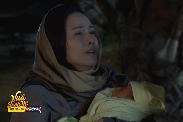 """""""Vua bánh mỳ"""" tập 2: Nhật Kim Anh bị truy đuổi suýt không giữ được đứa con sơ sinh"""