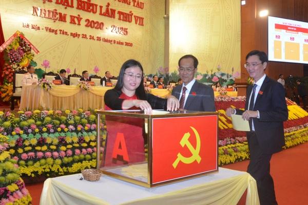 Ông Phạm Viết Thanh được giới thiệu để bầu làm Bí thư Tỉnh uỷ Bà Rịa-Vũng Tàu