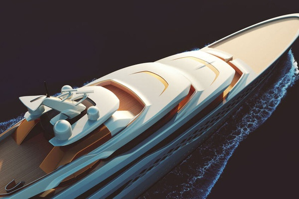 Siêu du thuyền sang chảnh có hộp đêm bí mật bên trong, dài ngang sân bóng