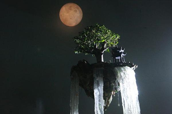 """""""Hòn đảo bay"""" trong phim viễn tưởng xuất hiện tại Hà Nội"""
