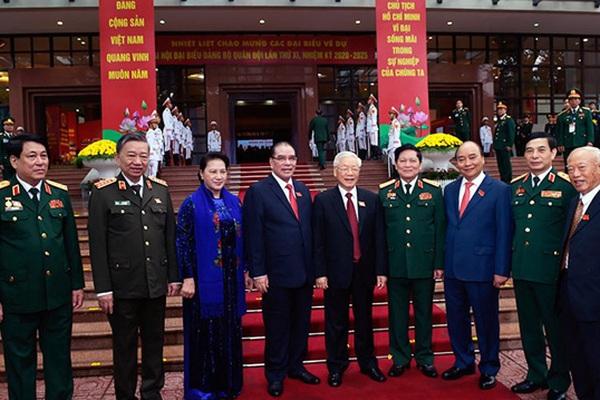 Tổng Bí thư, Chủ tịch nước dự và chỉ đạo Đại hội Đảng bộ Quân đội