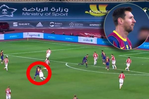 Messi đã nhận bao nhiêu thẻ đỏ trong màu áo Barcelona?