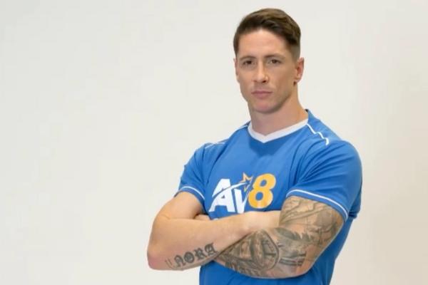 Fernando Torres tái xuất, gây bất ngờ với thân hình lực sĩ