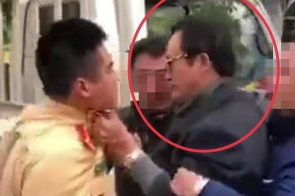 Sau vụ việc túm cổ áo CSGT, Chi cục trưởng Dân số tỉnh Tuyên Quang vẫn đi làm việc bình thường