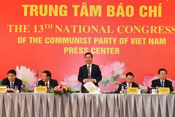 Ngày mai Đại hội XIII tiến hành bầu Đoàn Chủ tịch