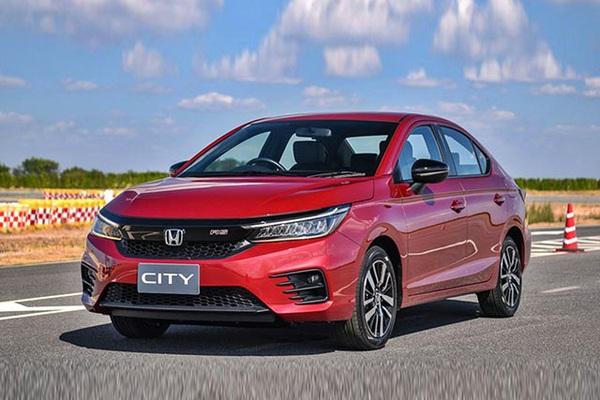 Giá xe Honda City lăn bánh tháng 1/2021
