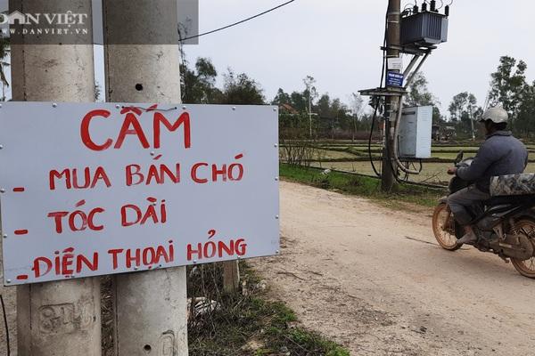 Quảng Trị có thôn cấm mua bán chó, tóc dài, điện thoại hỏng