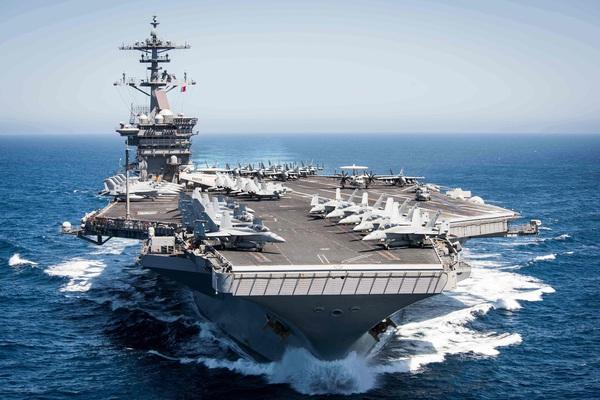 Mỹ điều một số tàu sân bay tấn công đến Biển Đông nắn gân Trung Quốc