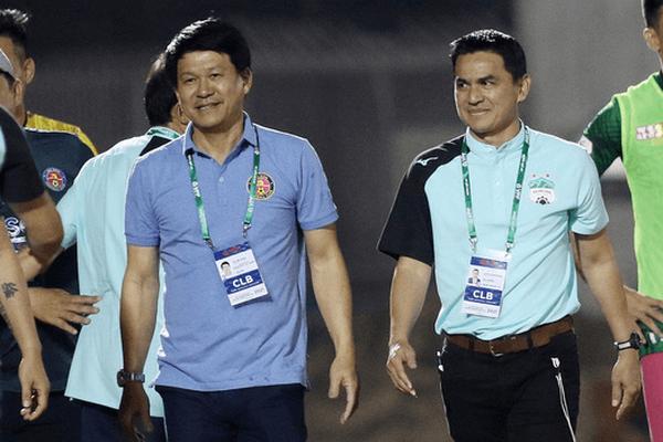 """HLV Vũ Tiến Thành cảnh báo """"ghế nóng"""" của HLV Chu Đình Nghiêm"""