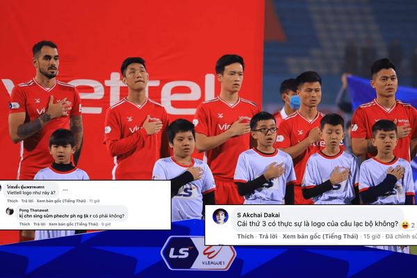 """AFC Champions League: CĐV Thái Lan """"ngã ngửa"""" trước logo của Viettel"""