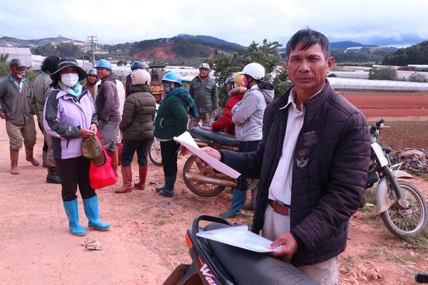 Vụ dân cho thuê đất 3 năm không đòi được tiền: Chỉ đạo mới nhất của UBND tỉnh Lâm Đồng