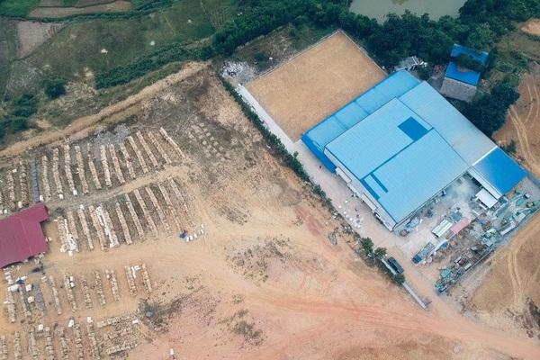 Vụ xây nhà máy trên đất rừng sản xuất ở Phú Thọ: Xử phạt 57 triệu đồng, yêu cầu phục hồi nguyên trạng