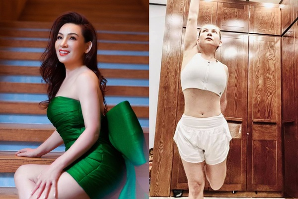 """Phi Nhung """"lột xác"""" ở tuổi U50 nhờ giảm 10kg, hiếm hoi mặc đồ quyến rũ hút mắt"""