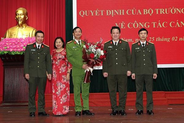 Phó Giám đốc Công an tỉnh Hà Nam được bổ nhiệm chức vụ mới