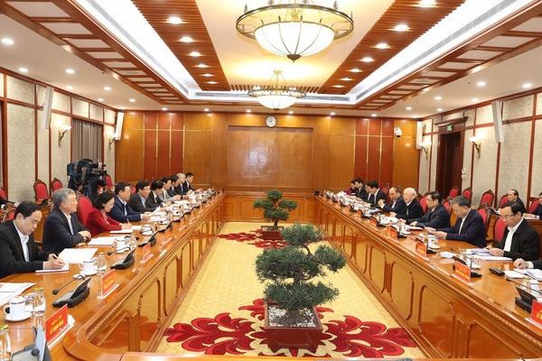 Dự kiến số Ủy viên Bộ Chính trị tham gia Quốc hội khóa mới sẽ giảm