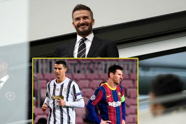 Ông chủ Beckham công khai tham vọng chiêu mộ cả Ronaldo và Messi